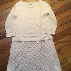 Crewcuts pink quilted sequin dress